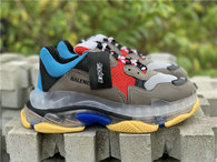 Balenciaga Triple-S RED-Blue-Grey
