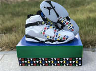 Authentic Air Jordan 8 Quai 54 Whtie