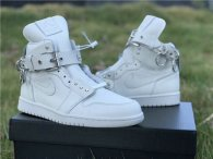 Authentic CDG Homme Plus x Air Jordan 1 GS White