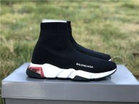 Authentic Balenciaga Speed Trainer Black/Red/White