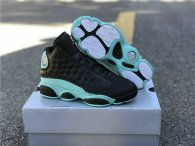 "Authentic Air Jordan 13 GS ""Island Green"""