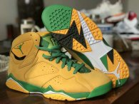 Authentic Air Jordan 7 Yellow/Green