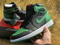 "Authentic Air Jordan 1 GS Retro High OG ""Pine Green"""