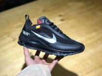Authentic OFF White x Nike Air Max 97 Black