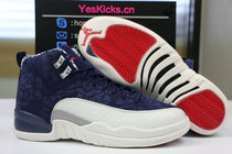 "Authentic Air Jordan 12 ""International Flight"""