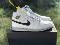 Authentic Air Jordan 1 Gray Dot