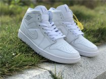 Authentic Air Jordan 1 Triple White