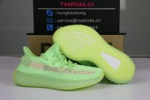 "Authentic Yeezy Boost 350 V2 ""Glow in the Dark"""