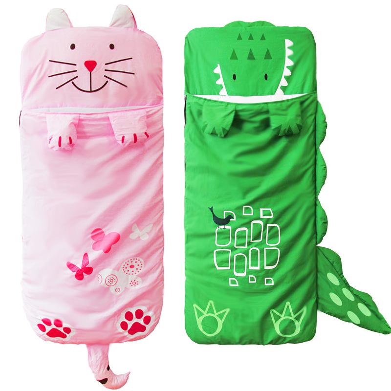 Little Kids Plush Animal Sleeping Bag