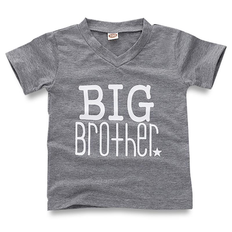 9f0f3749b Boys Print Big Brother T-shirts