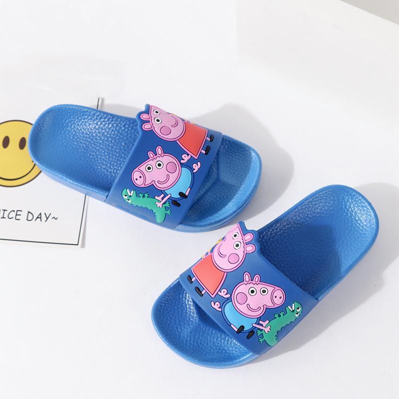 Peppa Pig Boys Cosmic Space George Blue Comfort Slippers