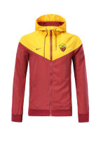 18/19 Roma red and yellow windbreaker