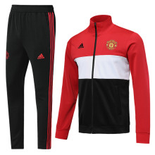 2019 Man Utd Red Jacket Tracksuit