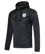 2019 Chelsea Black Windbreaker