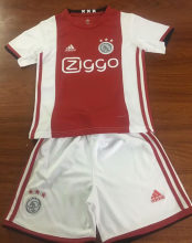 2019/20 Ajax Home Red And White Kids Soccer Jersey