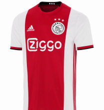 2019/20 Ajax Home 1:1 Quality Red And White Fans Soccer Jersey