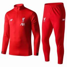 2019 Liverpool Red Half Pull Sweater Tracksuit