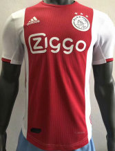 2019/20 Ajax Home Red Player Version Soccer Jersey