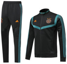 2019/20 Ajax Black Jacket Tracksuit