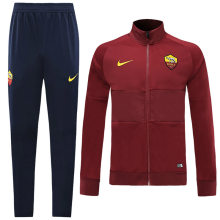 2019/20 Roma Red Jacket Tracksuit