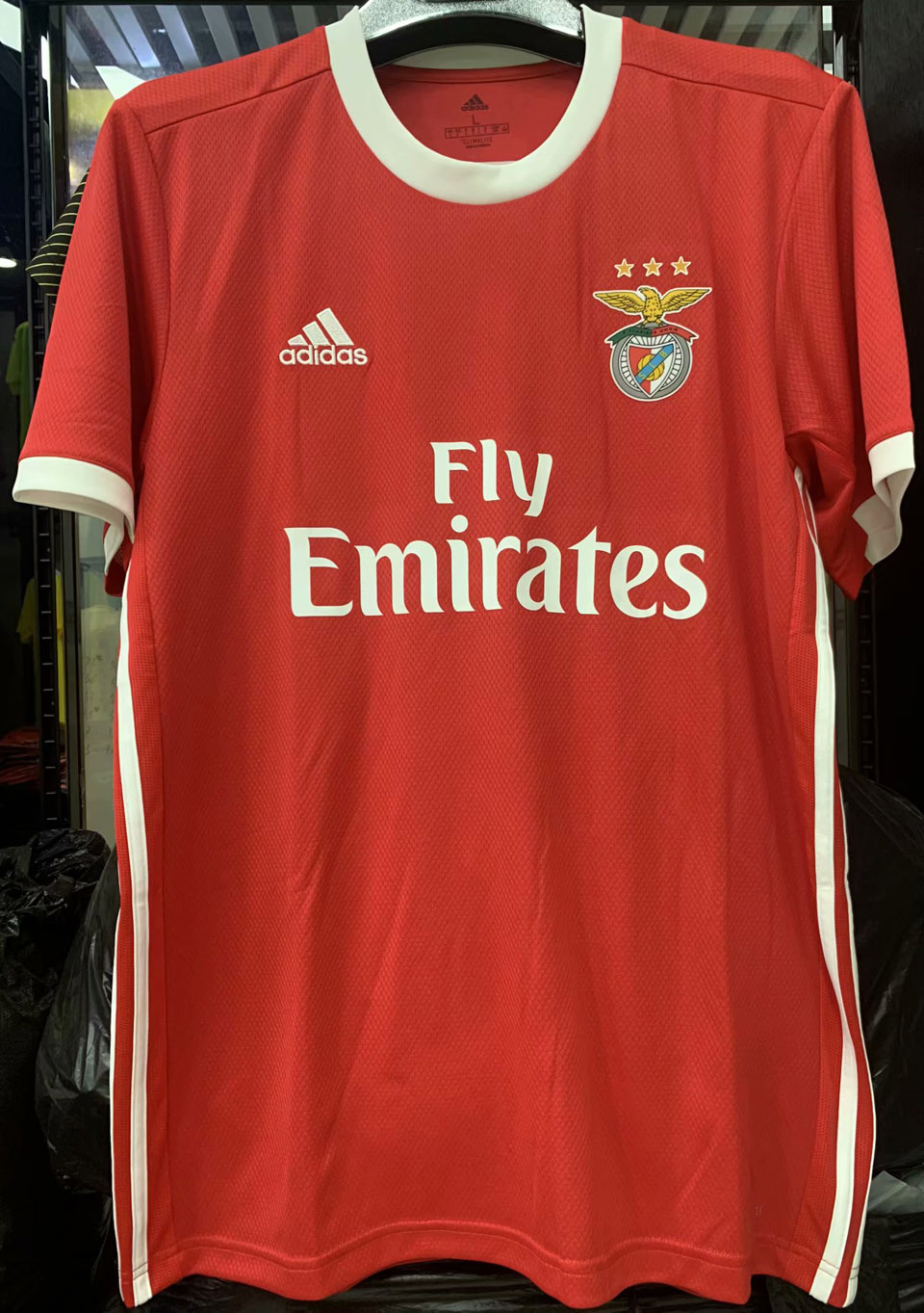 official photos b002d 077dc 2019/20 Benfica Home 1:1 Quality Red Fans Soccer Jersey