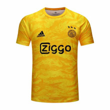 2019/20 Ajax Yellow Goalkeeper Home Soccer Jersey