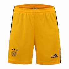 2019/20 Ajax Yellow Goalkeeper Short Pants