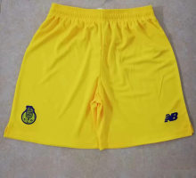 2019/20 Porto Yellow Away Shorts Pants