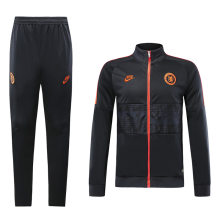 2019/20 Chelsea Black And orange Jacket Tracksuit Full Sets