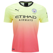 2019/20 Man City 1:1 Quality Away Fans Soccer Jersey