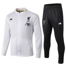 2019/20 Liverpool White Jacket Tracksuit