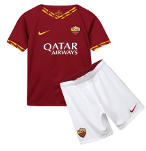 2019/20 Roma Home Red Kids Soccer Jersey