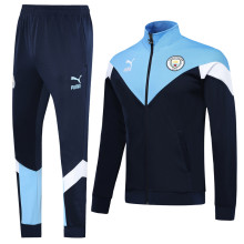 2019/20 Man City Royal Blue Jacket Tracksuit