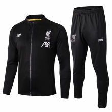 2019/20 Liverpool Balck Jacket Tracksuit Full Sets