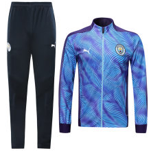 2019/20 Man City Purple Jacket Tracksuit
