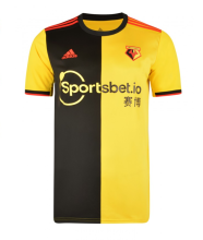 2019/20 Watford Home Yellow And Black Fans Soccer Jersey