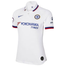2019/20 Chelsea Away White Women Soccer Jersey