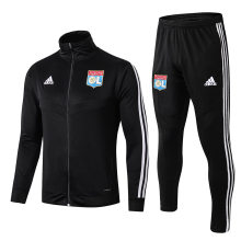 2019/20 Lyon Black Jacket Tracksuit Full Sets