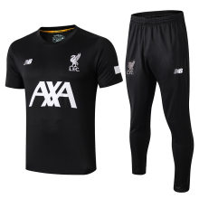 2019/20 Liverpool Black Training Short Jersey Full Sets