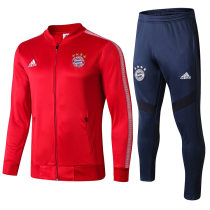 2019/20 Bayern Munich Red Jacket Tracksuit