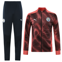 2019/20 Man City Pink Jacket Tracksuit