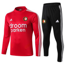 2019/20 Feyenoord Red Sweater Tracksuit