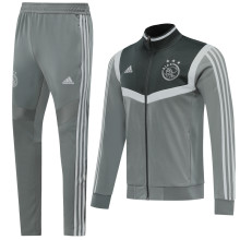 2019/20 Ajax Gray Jacket Tracksuit