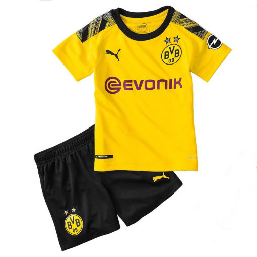 2019/20 Dortmund Home Yellow Kids Soccer Jersey
