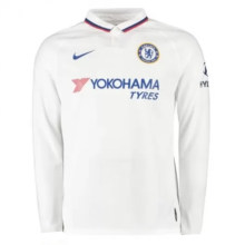 2019/20 Chelsea Away White Long Sleeve Soccer Jersey