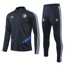 2019/20 Feyenoord Black Sweater Tracksuit