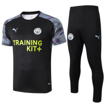 2019/20 Man City Black Adult Suit Tracksuit
