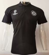 2019/20 Chelsea Black Polo Short Jersey