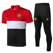 2019/20 Man Utd Red Polo Tracksuit