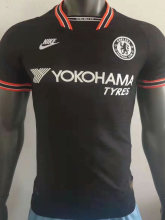 2019/20 Chelsea Away Black Player Version Soccer Jersey
